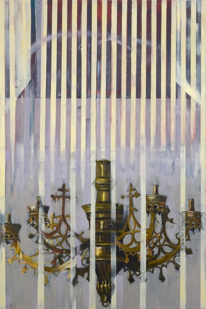 Chandelier-I-oil-on-canvas-160X100cm-2012