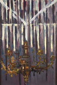 Chandelier-II-oil-on-canvas-160X100cm-2012