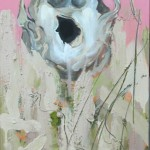 Foramen-Magnum-I-mixed-media-on-canvas-60X30cm-2013