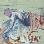 Samson- after Rubens-I-mixed-media-on-paper-100X70cm-2013-1.jpg