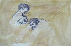 Samson-Rubens-VII-mixed-media-on-paper-30X20cm-2013