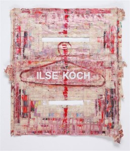 Michal Naaman, ILSE KPCH,-oil and letterset-onmaskintape