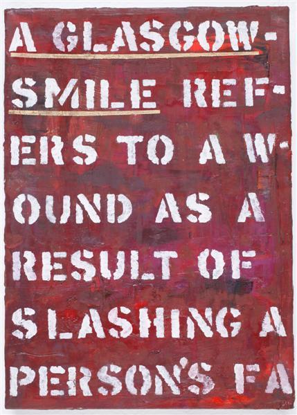 Michal Naaman,Glasgow smile,2012