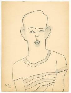 Portrait of Arieh , 1958