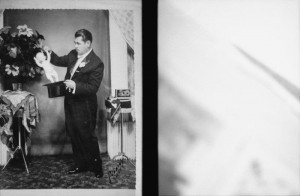 משה פרלוב ,הקוסם  1959  Moshe Perlov , The Magician
