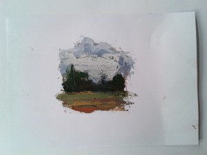 small landscape by Ido Marcus.
