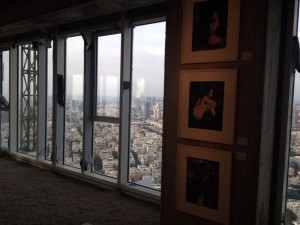 View from the 38th floor of Meier on Rothschild . (a glimpse on photographs by Anna Hayat and Slava Pirsky