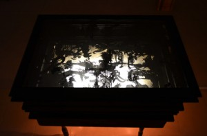 Michal Goldberg -light box , detail