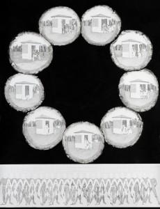 Yael Balaban 9 lense Rapidographand-Ink on Paper-after-Marey