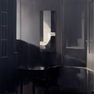 01_Untitled 2014, acrylic on canvas, 80x80 cm