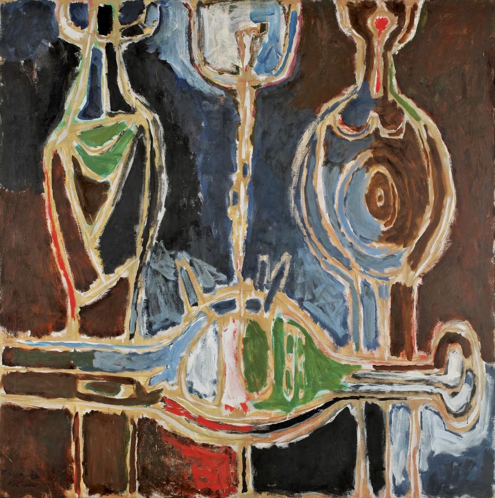 אהרון כהנא, רקוויאם לקדוש, 1960 אוסף משכן לאמנות עין חרוד