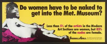 Guerrilla Girls 1985