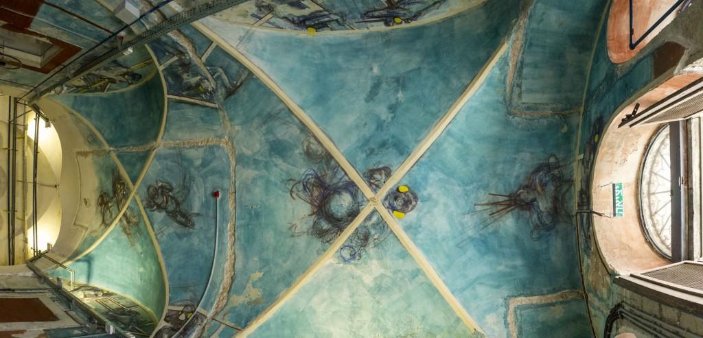 ציור תקרה של מידד אליהו