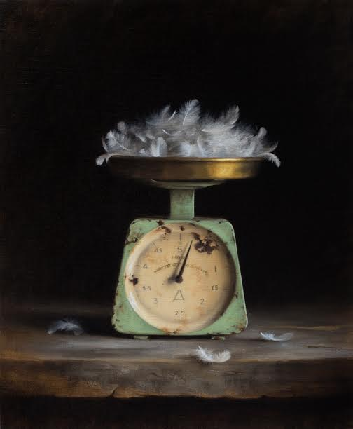 Dana Zaltzman, Untitled, Oil on Linen, 56 x 46 cm.