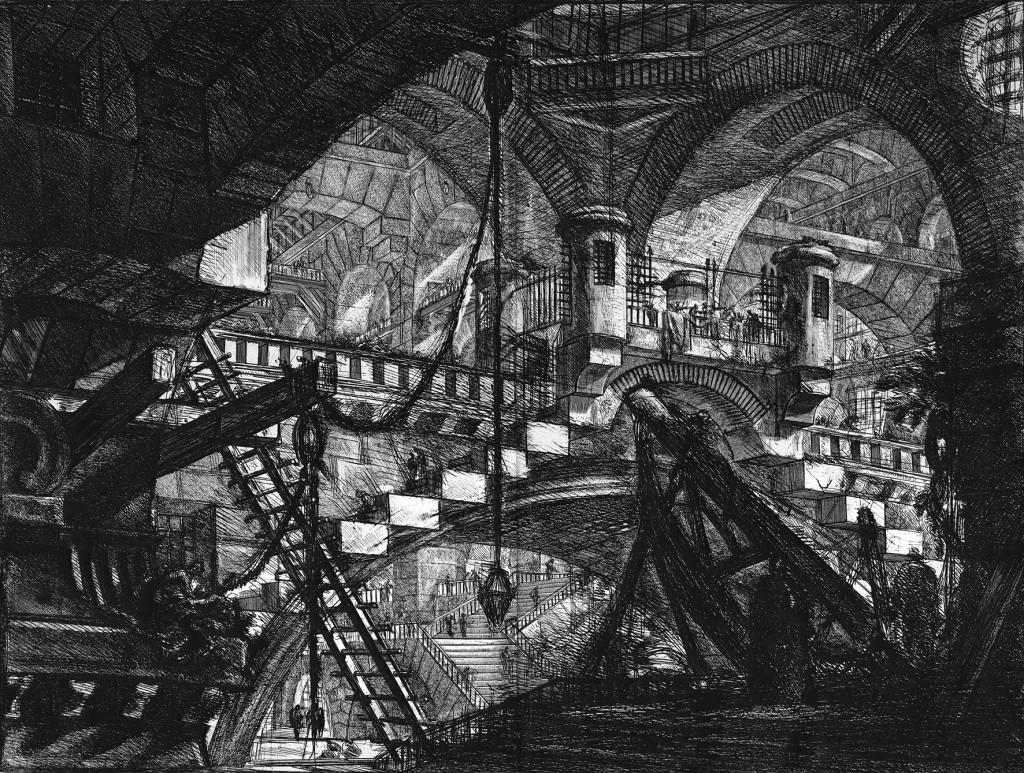 פיראנזי, בתי הכלא של הדמיון , 1761 בקירוב- Venezia, Fondazione Giorgio Cini, Matteo De Fina