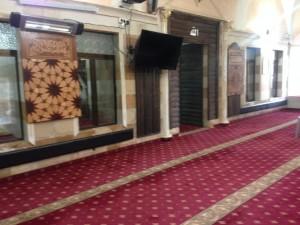 עבודות במסגד בדיר -חנא