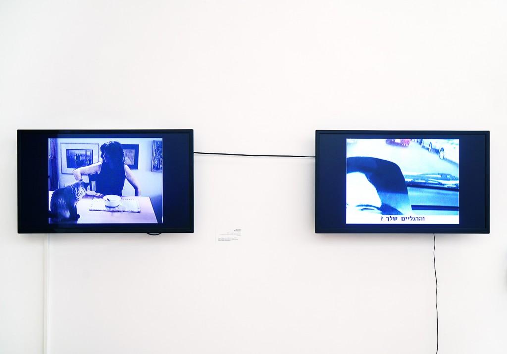 Michal Heiman, in Partial Portrait: Fragmented Identities