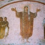 Catacomb of Priscilla 5th century; Underground,  north of Rome